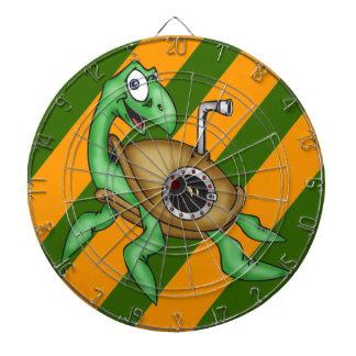 Dartboard de las tortugas de mar del dibujo animad