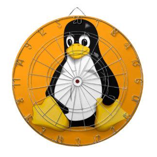 Dartboard de Linux Tux