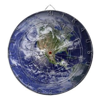 Dartboard de los Astronomía-amantes de la tierra d Tablero Dardos