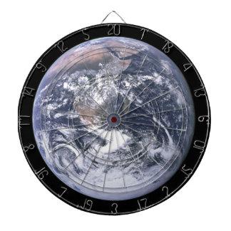Dartboard de los Astronomía-amantes de la tierra d Tablero De Dardos