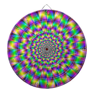 Dartboard de los círculos de color tablero dardos