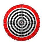 Dartboard de los ejercicios de tiro tabla dardos
