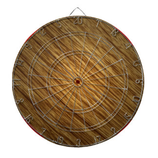Dartboard de madera del grano