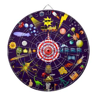 Dartboard de objetivos múltiples de los juegos del