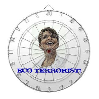 Dartboard de Sarah Palin del terrorista de Eco Tabla Dardos