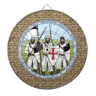 Dartboard de Templar de los caballeros
