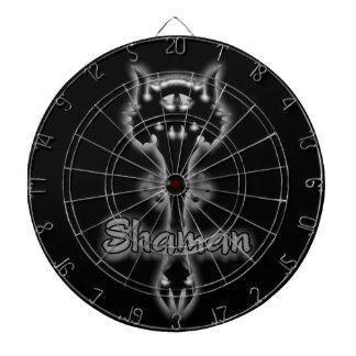 dartboard del bastón del shaman tablero dardos