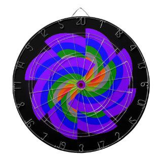 Dartboard del círculo del arco iris del molinillo