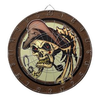 Dartboard del cráneo del pirata