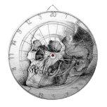 Dartboard del cráneo tablero dardos