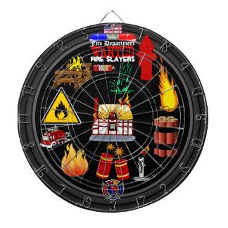 Dartboard del cuerpo de bomberos