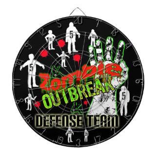 DartBoard del equipo de defensa del brote del