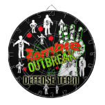 DartBoard del equipo de defensa del brote del zomb