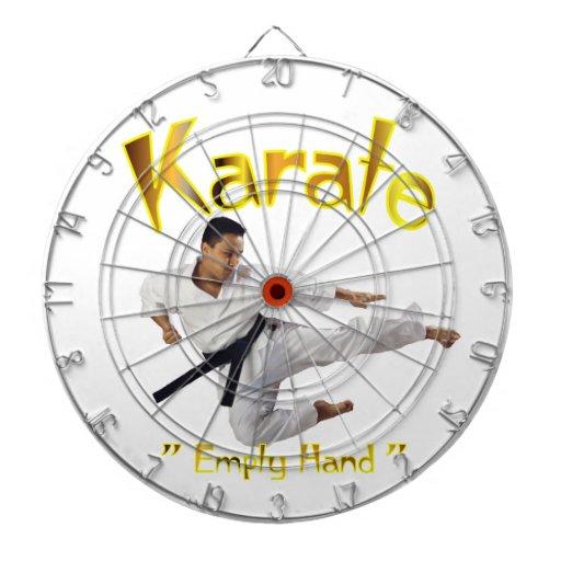 Dartboard del karate tabla dardos