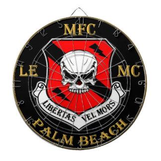 Dartboard del logotipo del club del Palm Beach del