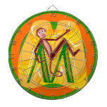 Dartboard del mono tablero de dardos