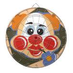 Dartboard del payaso de circo tablero dardos