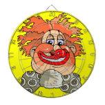 Dartboard del payaso de circo tablero de dardos