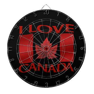 Dartboard del recuerdo de Canadá del amor del