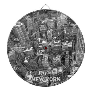 Dartboard del recuerdo de Nueva York del Dartboard