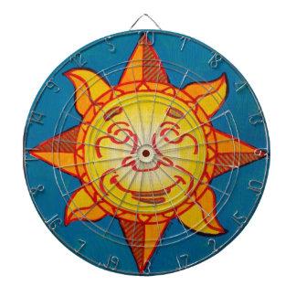 Dartboard del resplandor solar