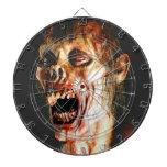 Dartboard del zombi tablero de dardos