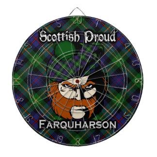 Dartboard escocés del tartán de Farquharson del