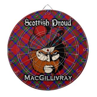 Dartboard escocés del tartán de MacGillivray del