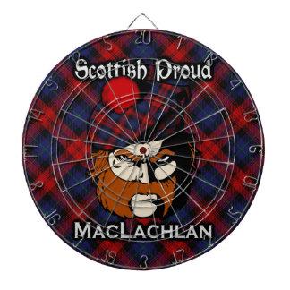 Dartboard escocés del tartán de MacLachlan del