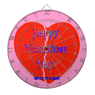 ¡Dartboard feliz del día de San Valentín! ¡Persona