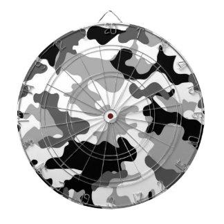 Dartboard gris de Camo Tablero Dardos