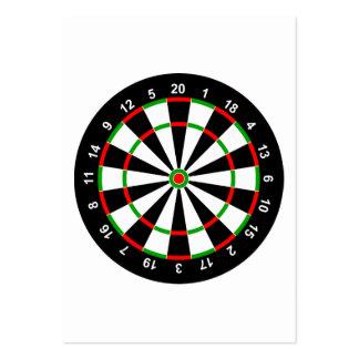 Dartboard Large Business Card