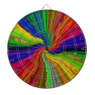 Dartboard líquido multicolor del espectro