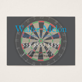 Dartboard Lover Business Card
