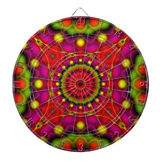 Dartboard Mandala Psychedelic Visions