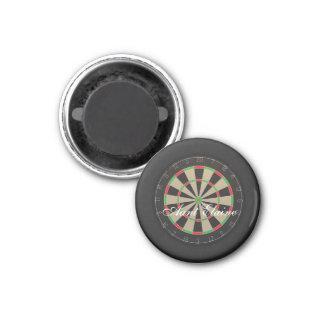 Dartboard Monogram Name Magnet