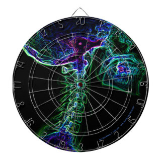Dartboard multicolor de la C-espina dorsal