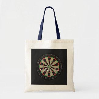 Dartboard Name Tote Bag