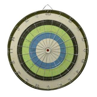 Dartboard neutral simple de los círculos de colore tablero de dardos