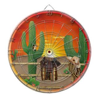 Dartboard occidental de la salida del sol