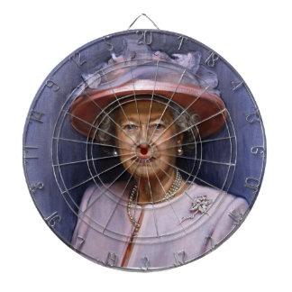 dartboard oficial de la reina Elizabeth Tablero De Dardos