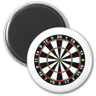 dartboard.png imán redondo 5 cm