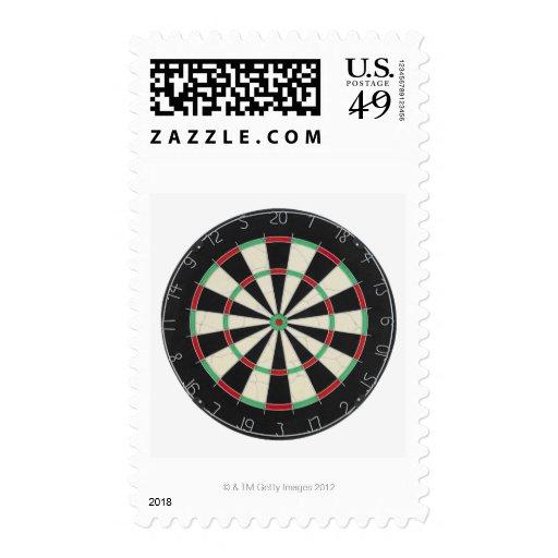 Dartboard Postage Stamps