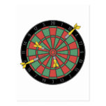 Dartboard Postcard