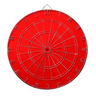 Dartboard red