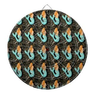 dartboard redheaded de la sirena tablero de dardos