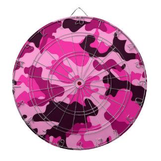 Dartboard rosado de Camo