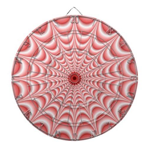 Dartboard rosado del Web