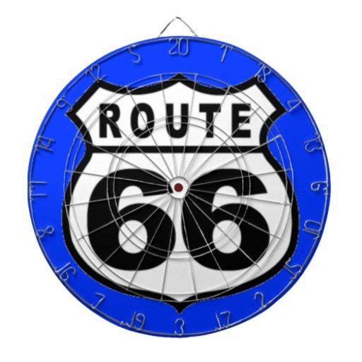 Dartboard - RUTA americana 66 del vintage
