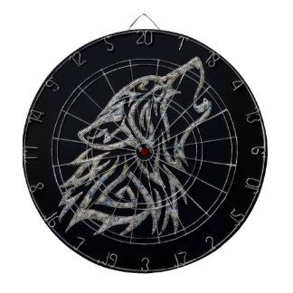 Dartboard tribal del lobo